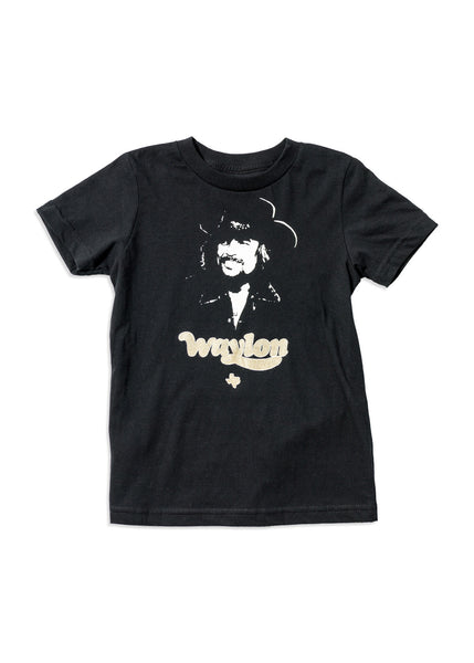 Waylon Jennings Texas Kid's Tee