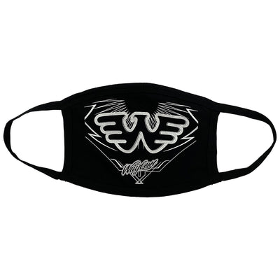 Waylon Jennings Flying W Face Mask