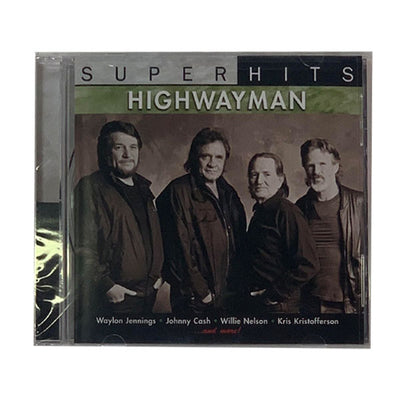 "Waylon Jennings ""Highwayman"" CD - Music - Waylon Jennings Merch Co."