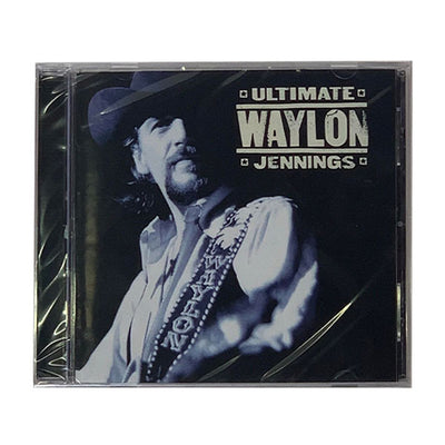 Ultimate Waylon Jennings CD - Music - Waylon Jennings Merch Co.