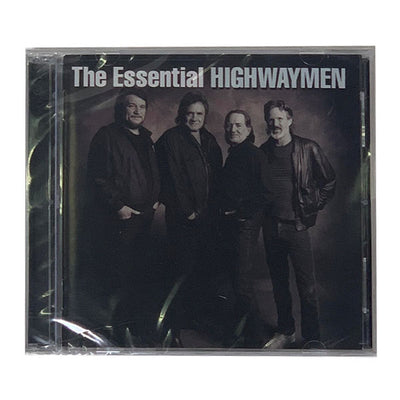 The Essential Highwaymen CD - Music - Waylon Jennings Merch Co.