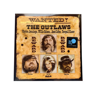 Wanted! The Outlaws Vinyl LP - Vinyl - Waylon Jennings Merch Co.