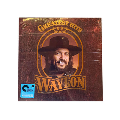 "Waylon Jennings ""Greatest Hits"" Vinyl LP - Vinyl - Waylon Jennings Merch Co."