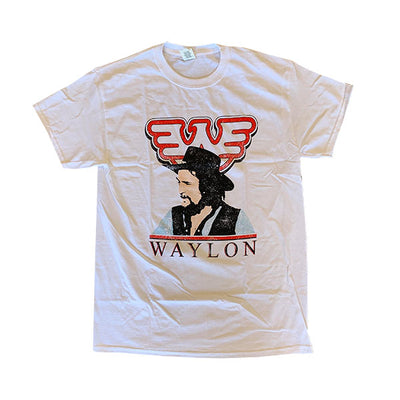 Profile Waylon Jennings Mens Tee Shirt - Men's Tee Shirt - Waylon Jennings Merch Co.