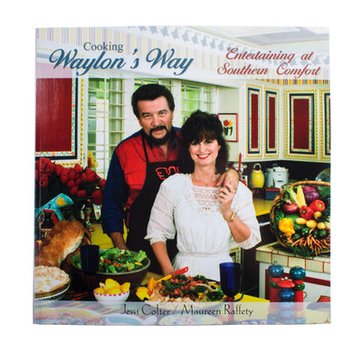 Cooking Waylon's Way by Maureen Raffety and Jessi Colter -  - Waylon Jennings Merch Co.