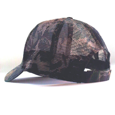 Waylon Jennings Signature Trucker Hat - Oak Camo - Accessories - Waylon Jennings Merch Co.