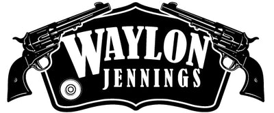 Waylon Jennings Gunslinger Patch - Accessories - Waylon Jennings Merch Co.