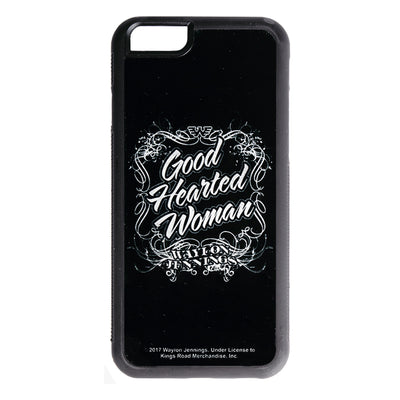 Waylon Jennings Good Hearted Woman iPhone Case - Accessories - Waylon Jennings Merch Co.