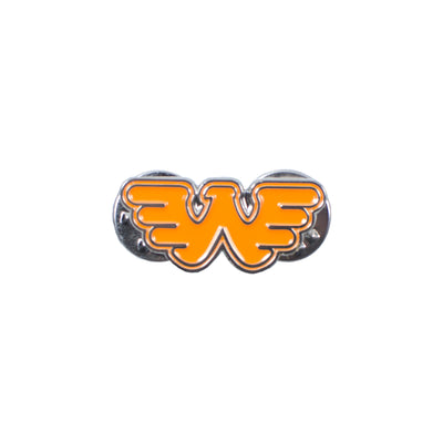 Waylon Jennings Orange Flying W Pin