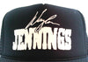 Waylon Jennings Signature Trucker Hat - Black
