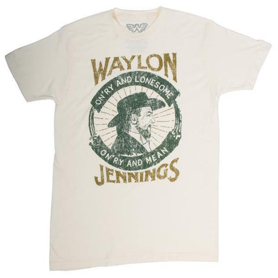 Waylon Jennings Fan Club Tee Shirt Box - INTERNATIONAL MONTHLY SUBSCRIPTION ONLY - Men's Tee Shirt - Waylon Jennings Merch Co.