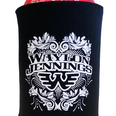 Waylon Jennings Flying W Collapsible Koozie - Accessories - Waylon Jennings Merch Co.