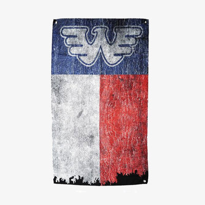 Waylon Jennings Texas Flag - Accessories - Waylon Jennings Merch Co.