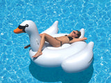 GIANT SWAN INFLATABLE POOL TOY