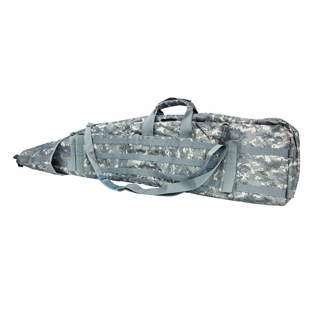 VISM 45'' Drag Bag Long Double Military Rifle Case Tactical Pistol Soft Gun Case
