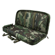 "VISM 28"" Tactical Deluxe Rifle Padded Soft Gun Case Subgun Pistol Carbine Woodland Camo"