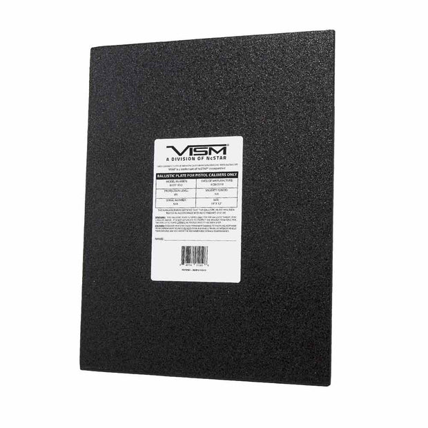 "VISM Level IIIA Flat Rectangular Cut PE Hard Ballistic Plate 11""x14"" 10""x12"""