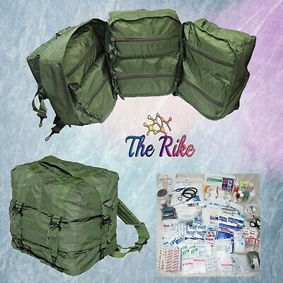 MediTac Fully Stocked Kit Backpack Emergency Bag First Responder GI Issue Large
