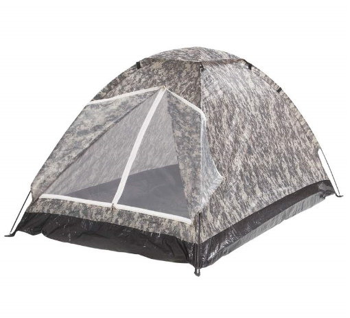 Portable Tent Two Person Digital Camo Camp Biking Light Travel Sleep Camouflage
