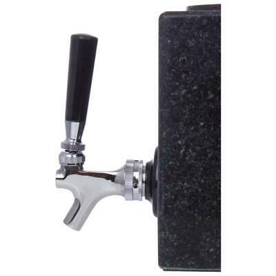 Wyndham House Marble Granite Liquor Dispenser with Tap Bar Accessory Black