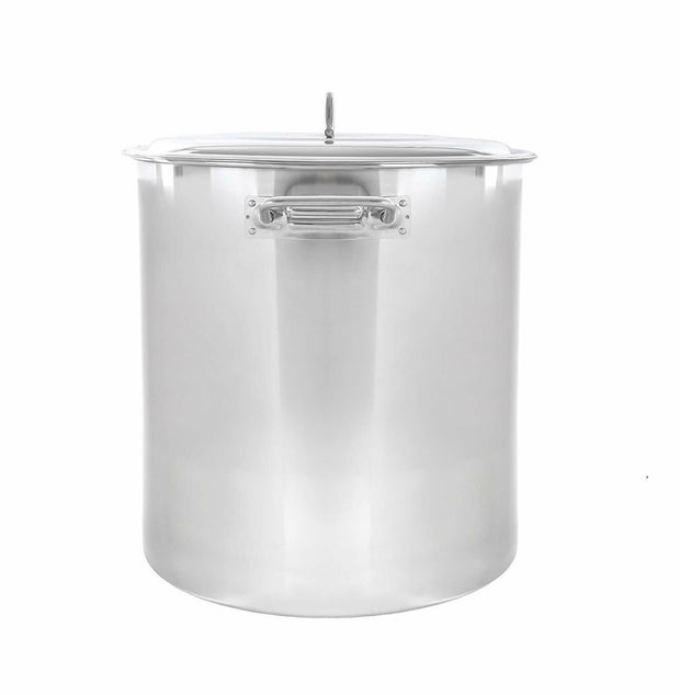 Precise Heat 12 Element Stainless Steel Stockpot Cooking Pot 65qt T304 BFKTSP65