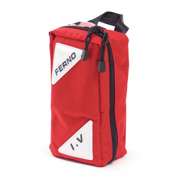 Ferno Lockable Intravenous Mini Bag Red Blue Model 5116 for IV supplies