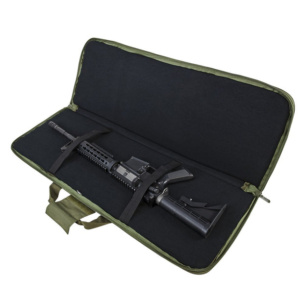 "VISM 28"" 36"" 42"" Padded Soft Gun Case Tactical Carbine Rifle Bag Hunting"