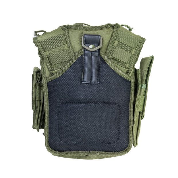 VISM Tactical First Responder Utility Bag Molle Mag Pouch Shoulder Bag Green
