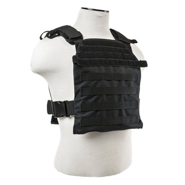 VISM Tactical Fast Plate Carrier Fits 10X12 Ballistic Plate Multicolor CVPCF2995