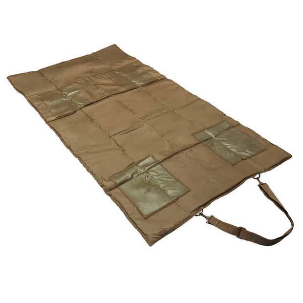 VISM Tactical 69''L Padded Roll Up Shooting Mat Lightweight Hunting Multicolor