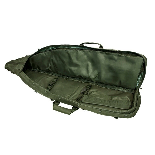 VISM 45'' Drag Bag Double Carbine Sniper Rifle Soft Gun Case Green CVDB2912G