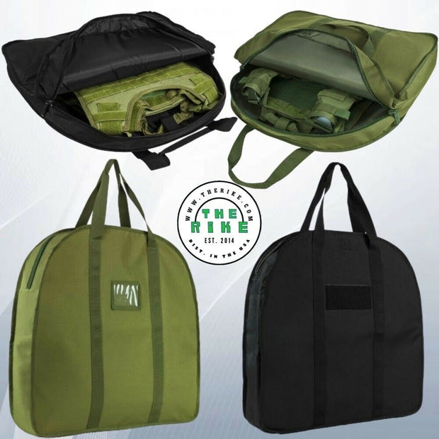 NcSTAR Soft Padded Tactical Vest Plate Carrier Bag Storing Carrying Black Green