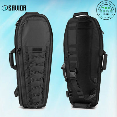 Savior Equipment T.G.B. Earth Black Covert Carrying Case with Strap, 34 Inch
