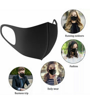 4 Pack Cloth Face Mask Motorcycle Bandana Reusable Face Cover Water Repellent