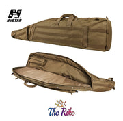 VISM 45'' Gear Drag Bag Padded Rifle Carbine Soft Gun Case Tan CVDB2912T