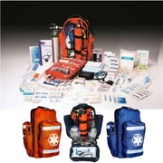 DixieGear Trauma Kit Backpack O2 Oxygen D Cylinder Fully Stocked EMS EMT
