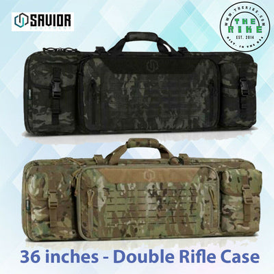 "Savior Equipment Multicam® Urban Warfare 36"" 42"" 46"" 51"" 55"" - Double Rifle Case 2 Colors"