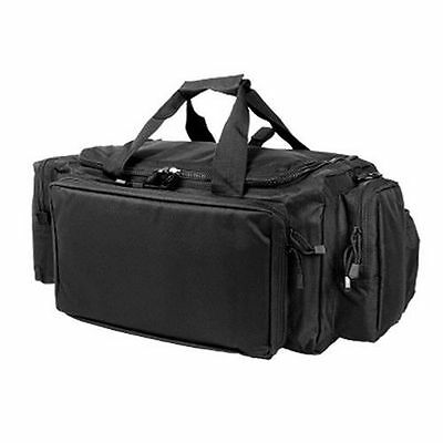 VISM Tactical Expert Range Bag Duffle Gear Bag Gun Case SWAT Hunting Army Black