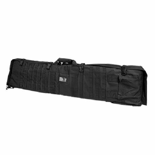 VISM 48'' Tactical Rifle Case Shoulder Backpack Shooting Mat Hunting Multicolor