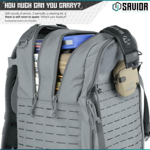 Savior Sema Gun Range Tactical Pistol Compartment Backpack Shooting Hunting Bag