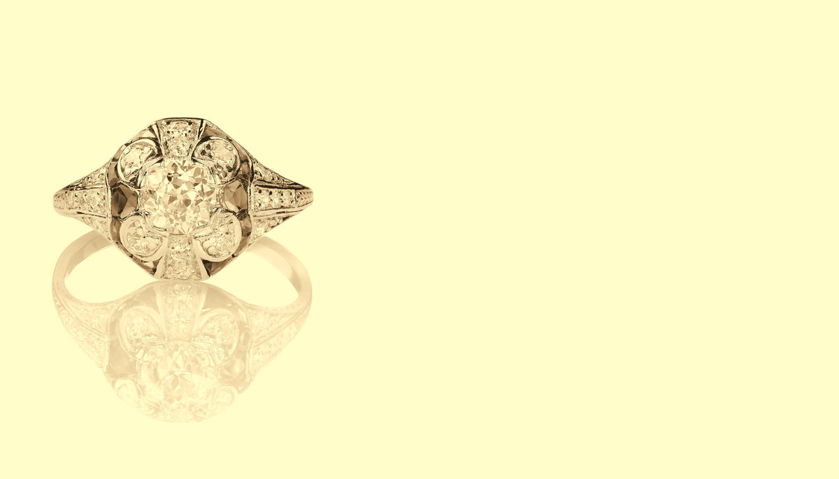 Antique and Vintage Engagement Rings
