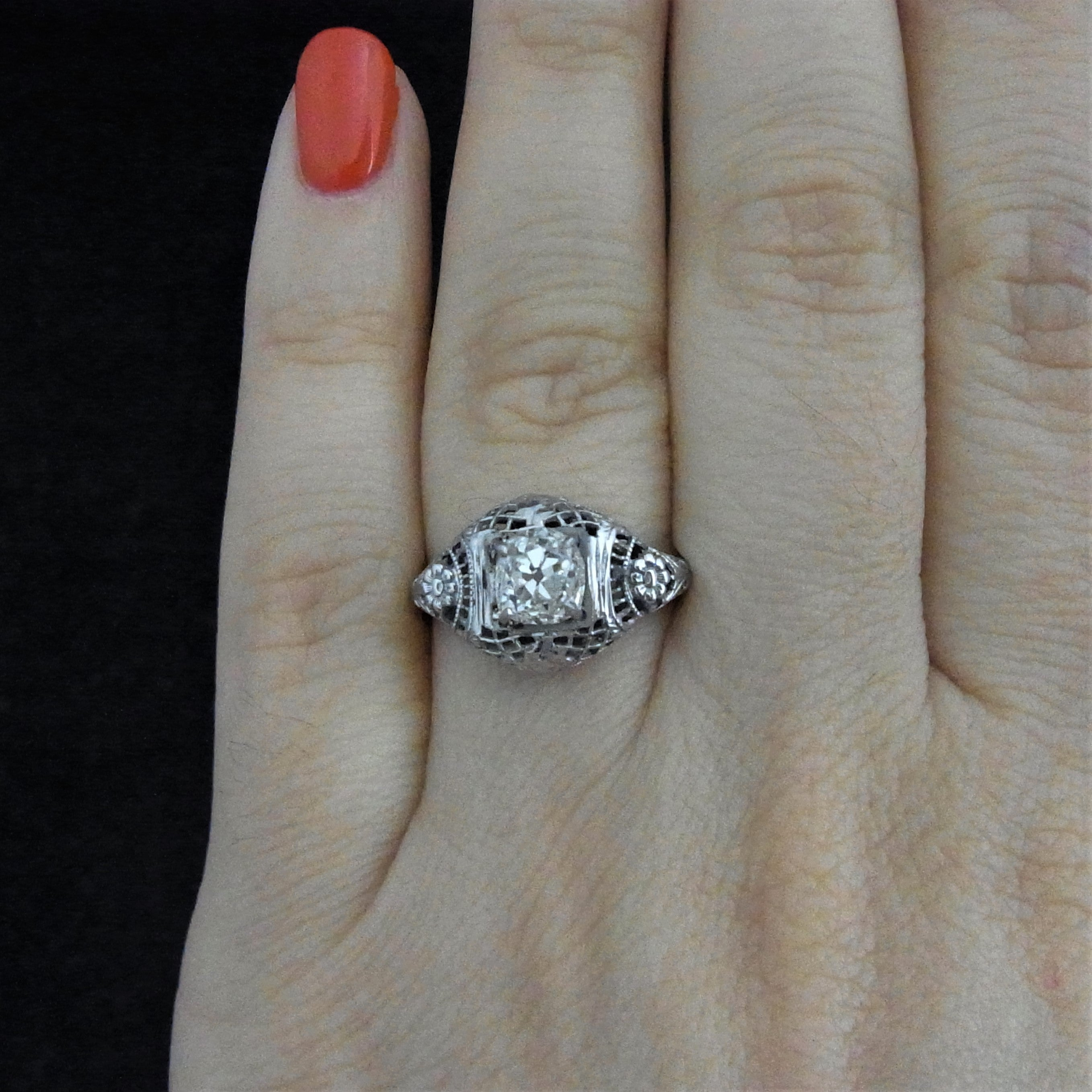 gold princess diamond certified tw pave bridal products cut rings in gia ct white set engagement encrusted