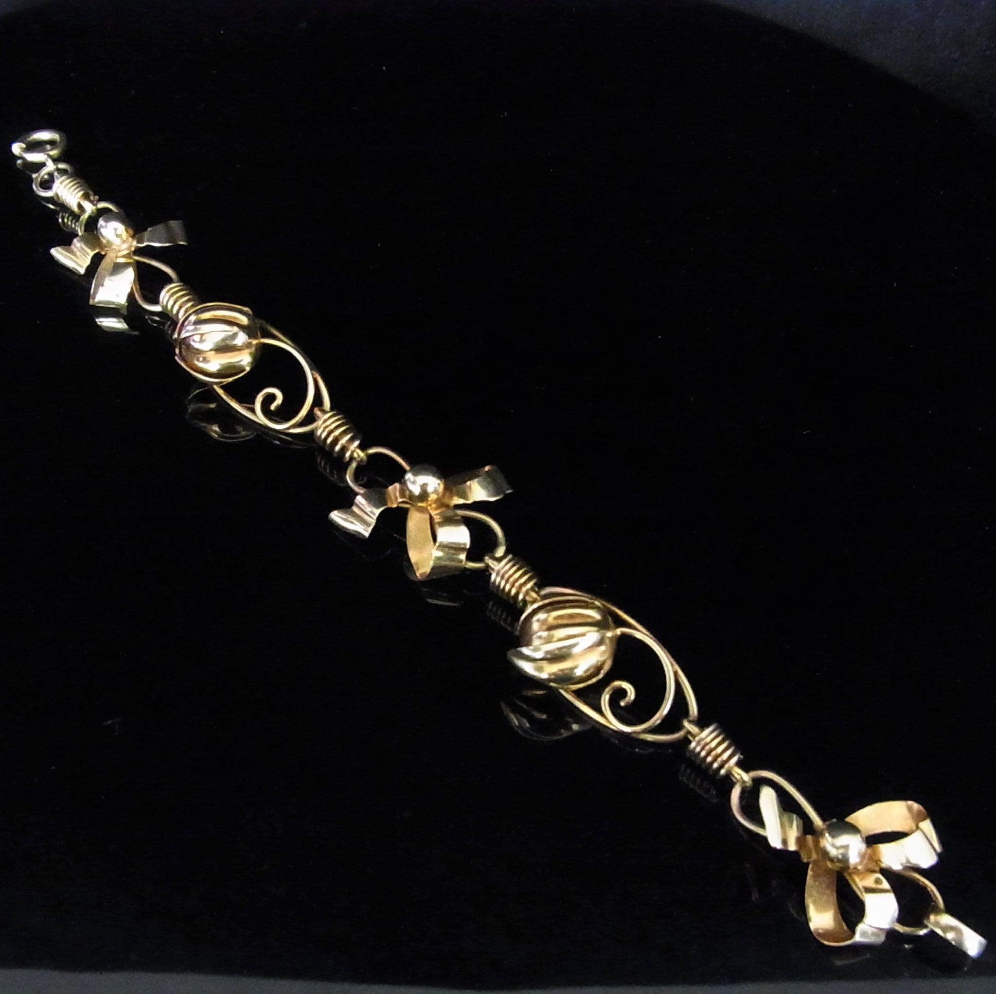 basin bracelet retro erie tiffany