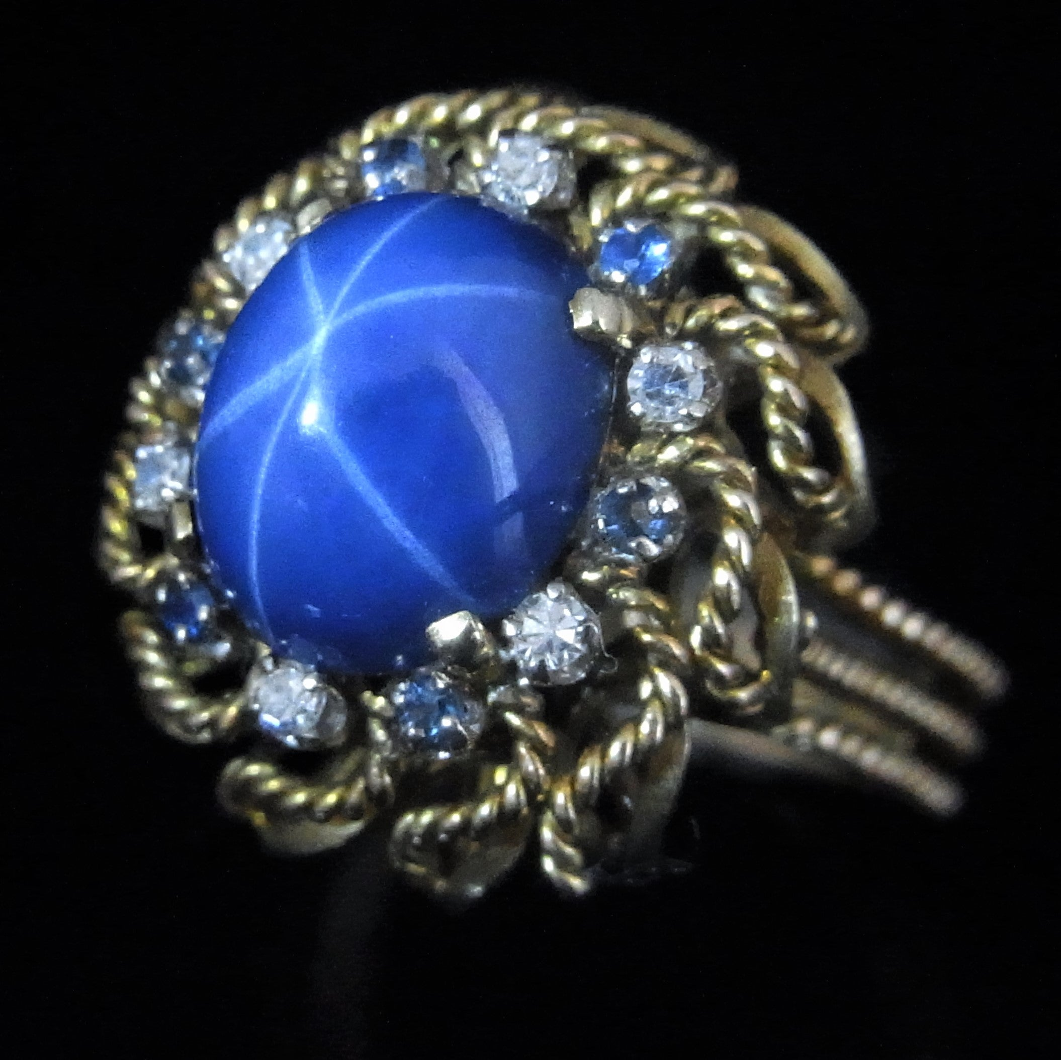 star fullxfull bars craters band silver in ring made order listing sterling to your sapphire il and size blue natural
