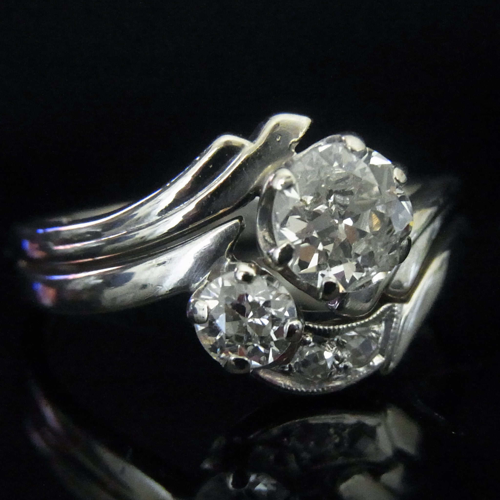 antiq european art ring old deco cut products platinum edwardian certified scintillation diamond engagement circa euro