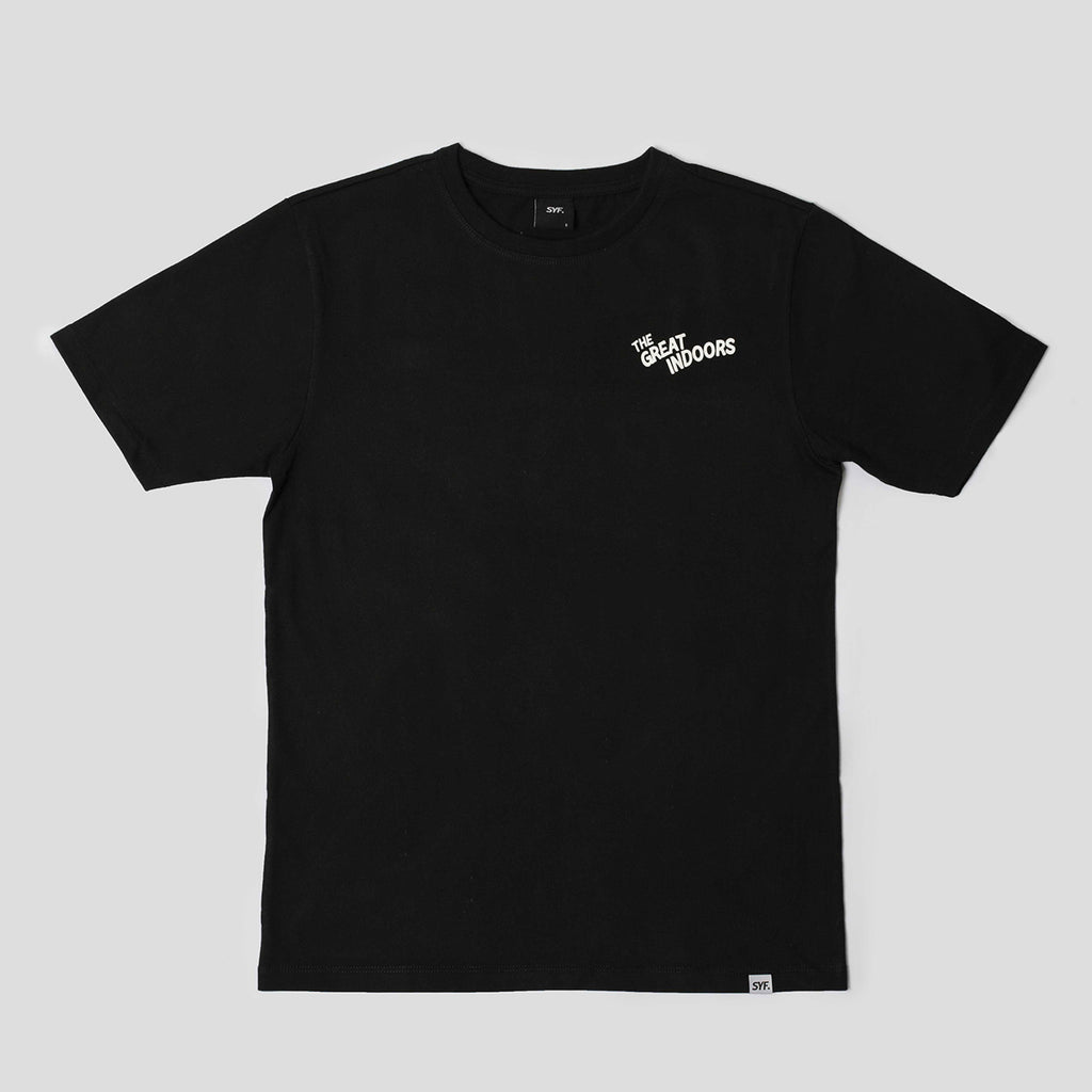 The Great Indoors Tee - Black