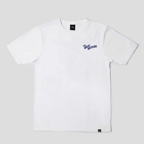The Great Indoors Tee - White