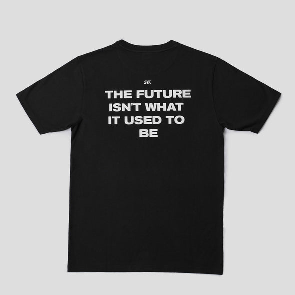 Wordlogo Future Tee - Black