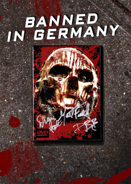 The Orphan Killer Autographed DVD