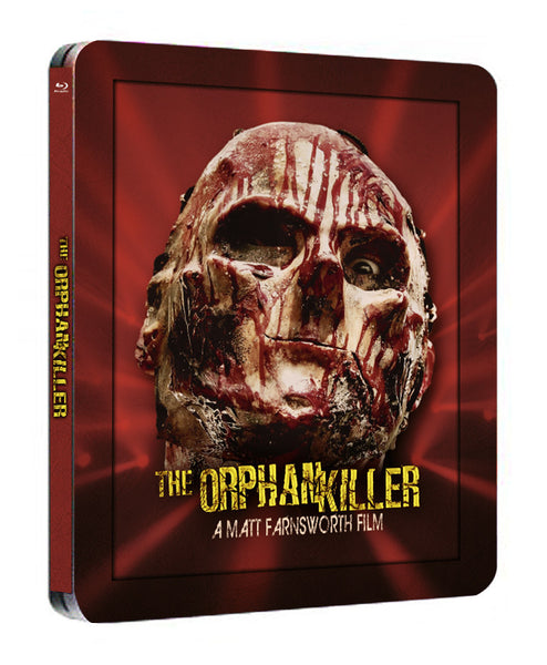 [The Orphan Killer] STEELBOOK BLURAY Autographed
